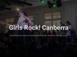 Girls Rock! Canberra